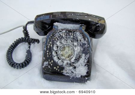 Calling Cold on a Land Line Telephone