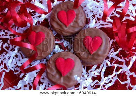 Chocolate Valentine Heart Candy