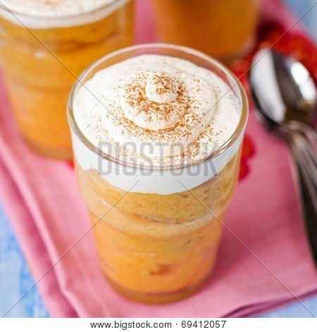 Pumpkin Banana Souffle