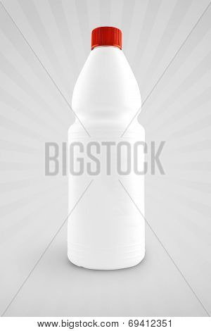 Unlabeled Plastic Bottle For Chemical Liquid