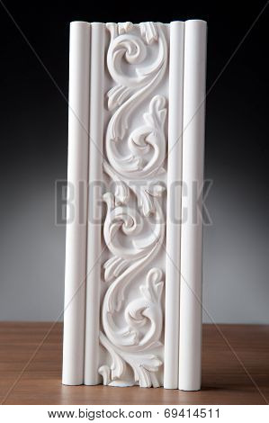 White Stucco modling