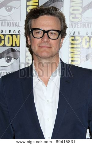 SAN DIEGO - JUL 25:  Colin Firth at the