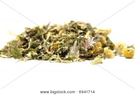 Detailed But Simple Image Of Mixed Herbs