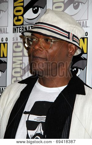 SAN DIEGO - JUL 25:  Samuel L. Jackson at the