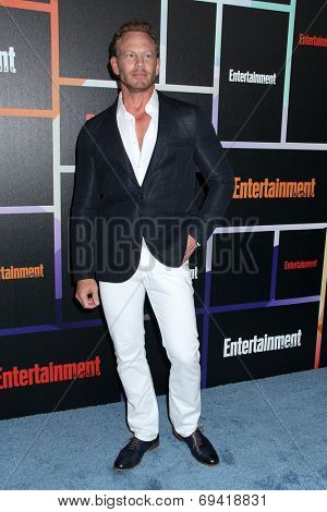 SAN DIEGO - JUL 26:  Ian Ziering at the Emtertainment Weekly Party - Comic-Con International 2014 at the Float at Hard Rock Hotel San Diego on July 26, 2014 in San Diego, CA