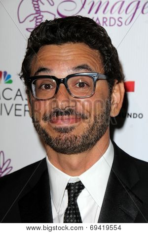 LOS ANGELES - AUG 1:  Al Madrigal at the Imagen Awards at the Beverly Hilton Hotel on August 1, 2014 in Los Angeles, CA