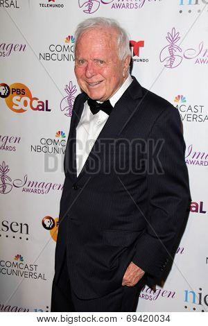 LOS ANGELES - AUG 1:  Richard Riordan at the Imagen Awards at the Beverly Hilton Hotel on August 1, 2014 in Los Angeles, CA