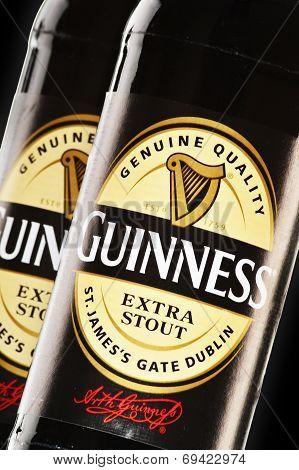 Bottles Of Guinness Beer