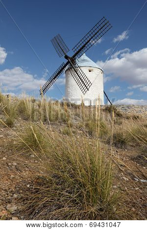 Traditional Spanish Windmill