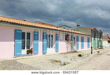 Village Near La Rochelle, France