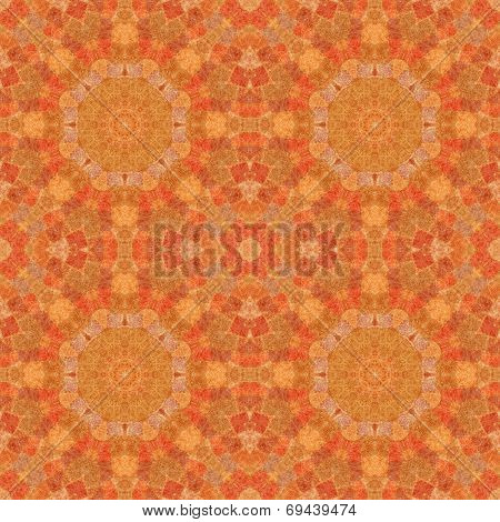 Seamless pattern, mosaic of  fabric