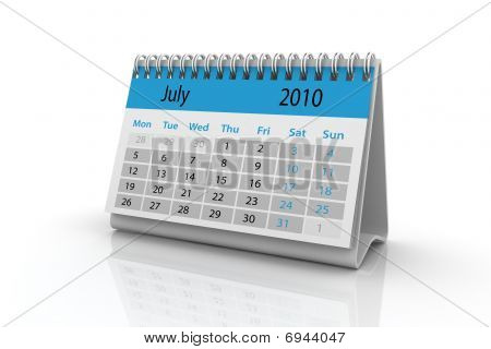 July 2010 Calendar
