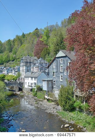 Monschau,Eifel,Germany