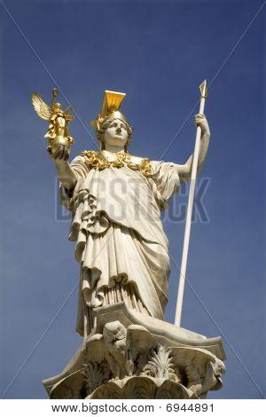 Athena - Vienna - Fountain for parliament