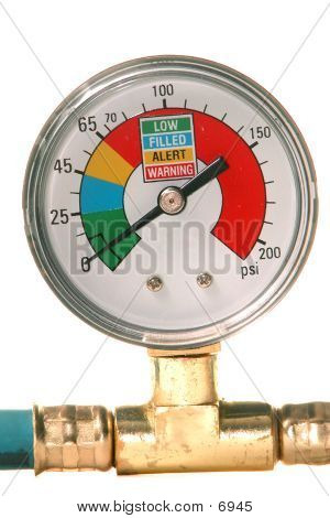 Air Conditioner Pressure Gauge