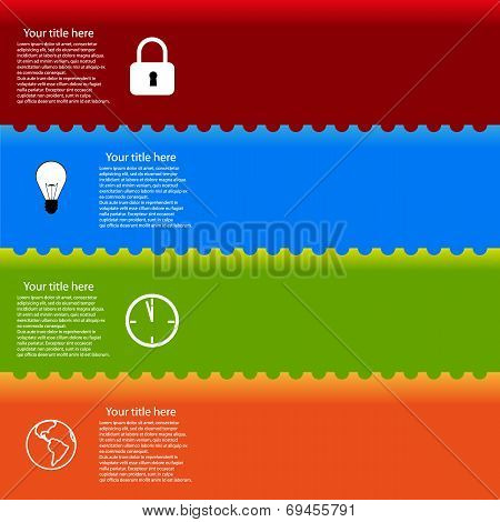 advertising vector security background