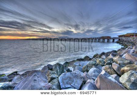 Marina Bay Sunset View in Berkeley HDR
