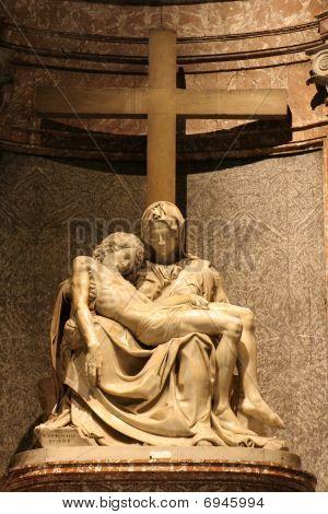 Rome - Piety in Santa Maria di Pace