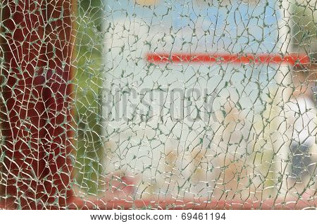 Textured Glass Abstract