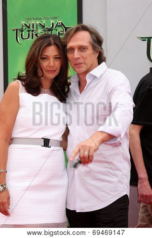 LOS ANGELES - AUG 3:  William Fichtner at the Teenage Mutant Ninja Turtles Premiere at the Village Theater on August 3, 2014 in Westwood, CA