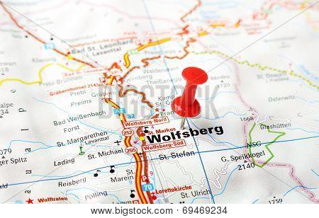 Wolfsberg,austria Map