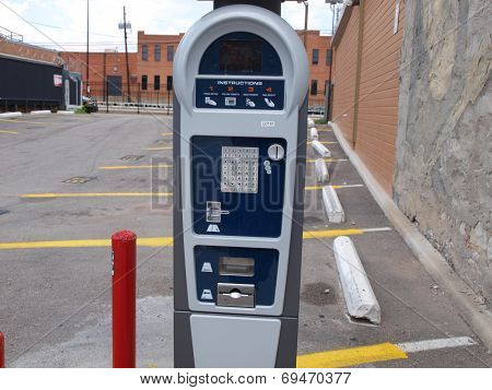 Digital Parking Lot Meter
