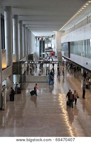 Airport In Tokyo, Japan