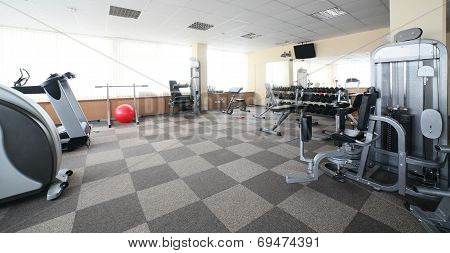 Sport Gym Without People