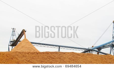 Giant Wood Chipper