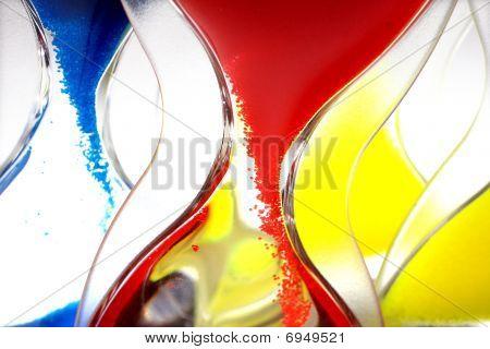 Hourglass Closeup Shot