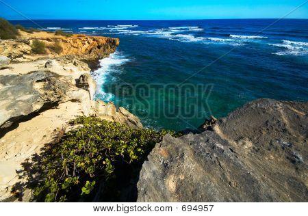 Rock Formation & Ocean