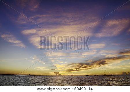 Sunrise in Sanibel Island