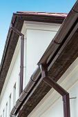 Eavestrough With Downspout poster