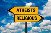 picture of cult  - Atheists or Religious concept - JPG