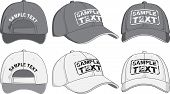 pic of in front  - Baseball cap front back side - JPG