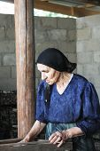 Senior Woman At Work