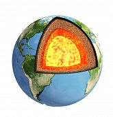 pic of outer core  - Structure of the Earth - JPG