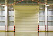 picture of roller shutter door  - Shutter door or rolling door - JPG