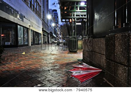 Abandoned Umbrella