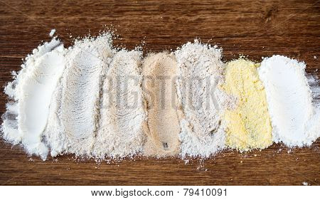 7 Types Of Flour