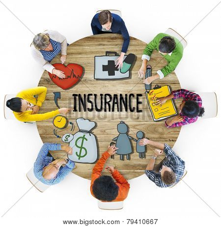 Insurance Protection Guarantee Safety Security Safety Concept