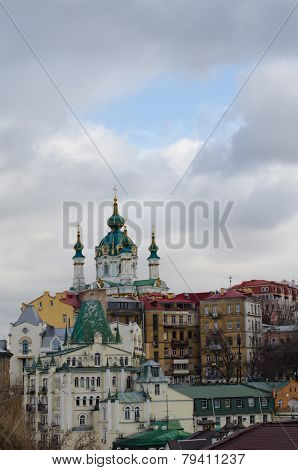 St. Andrew Church and Descent, Kiev