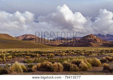 Mountains of Bolivia, altiplano
