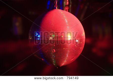 Disco-Kugel in Bewegung