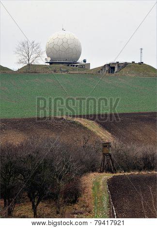 modern radar, Czech Republic, Europe