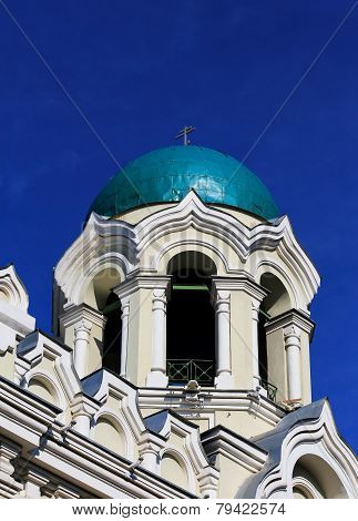 Bell Tower With A Dome