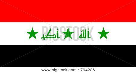 Flagge der Irak