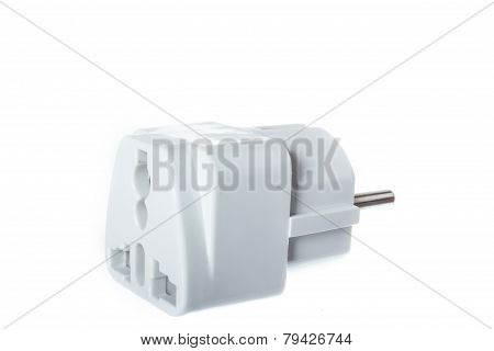 Universal American To European Travel Adapter Converter Plug