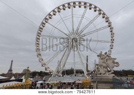 Paris. Ferris Wheel.