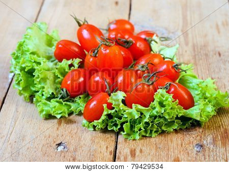 Tiny Plum Tomatoes
